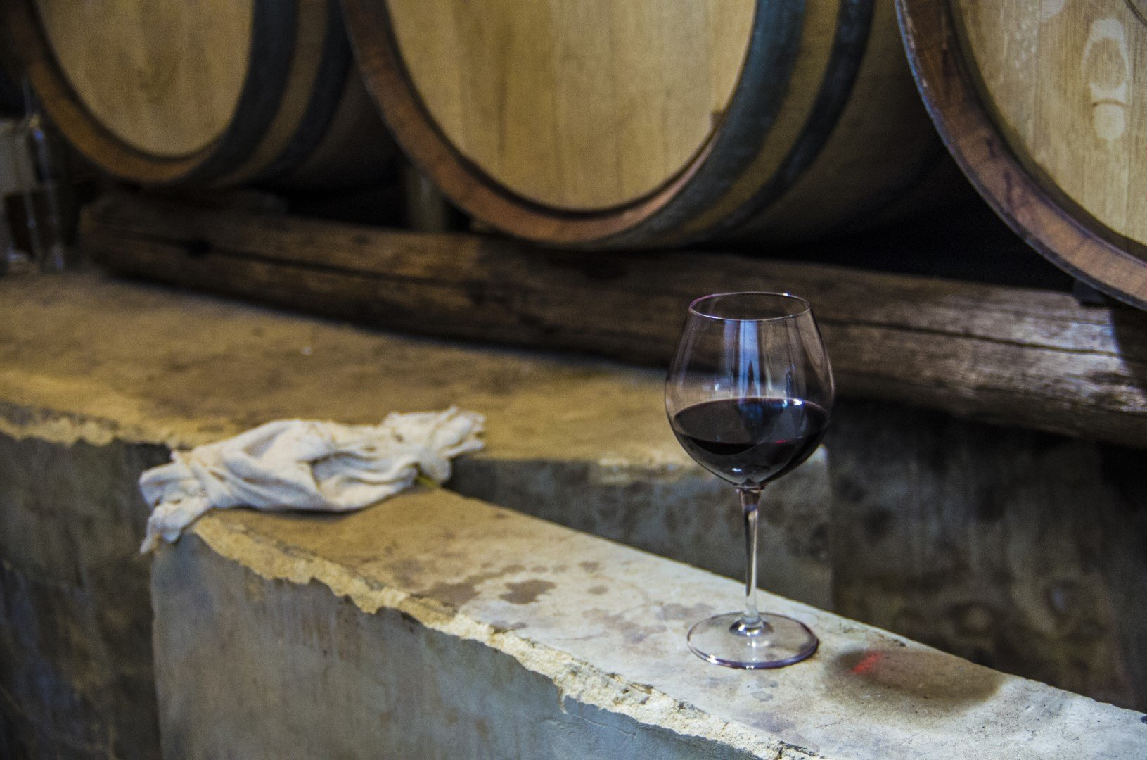 Tasting our Grand Cru wines